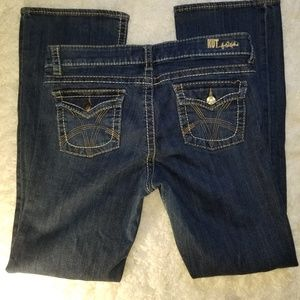 Kut from the Kloth Boot Cut  Back Flap Jean 10